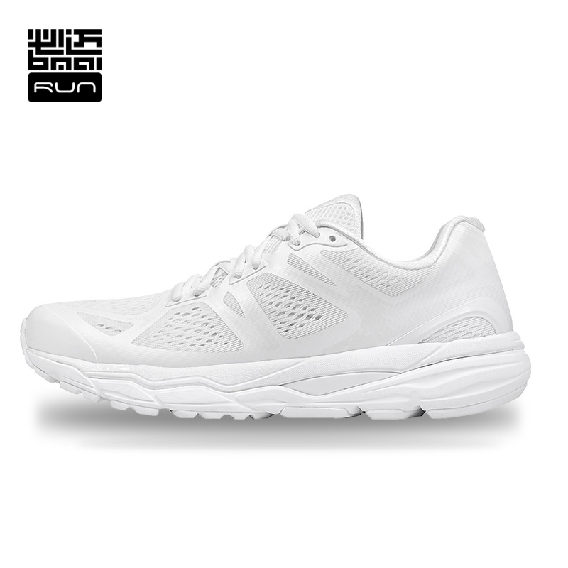BMAI Men Running Shoes Marathon 42KM Skid-proof Woman Athletic Mesh Breathable Anti-slip Outdoor Sport Marathon Sneakers #Lovers bmai running shoes professional cushioning marathon 42km for women anti slip breathable athletic outdoor sport sneakers