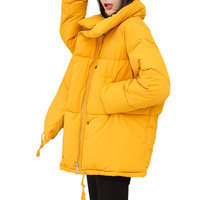 Winter Woman Coats 2018 INS Fashion Loose Cotton padded Coats Women Short Parkas Warm Tthickened Harajuku Female Jacket Outwear