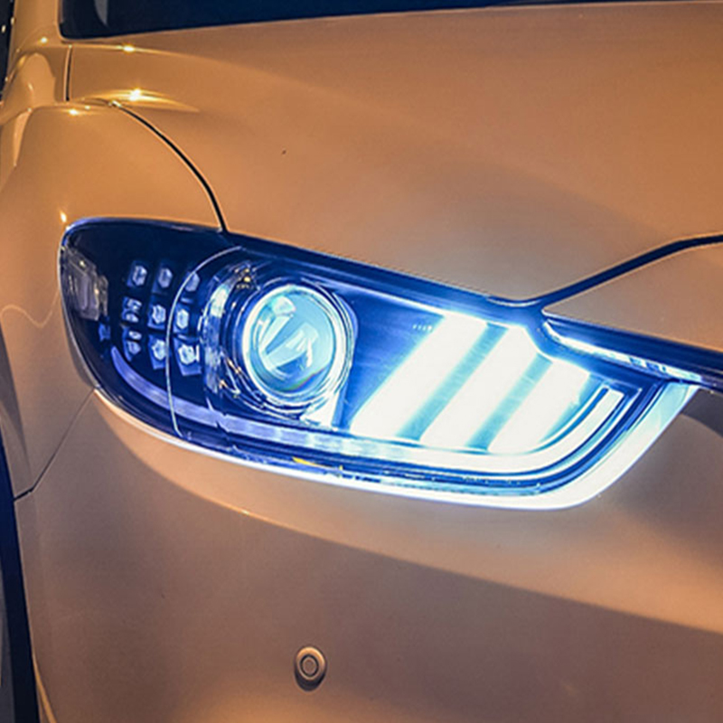 Kit de luces delanteras de LED para coches conducci/ón diurna