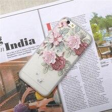 Phone Cases For iphone 7 6 6S 8 Plus X Case Retro Girly Soft Silicon Cover 5 5s SE Anti-knock Matte Coque fundas