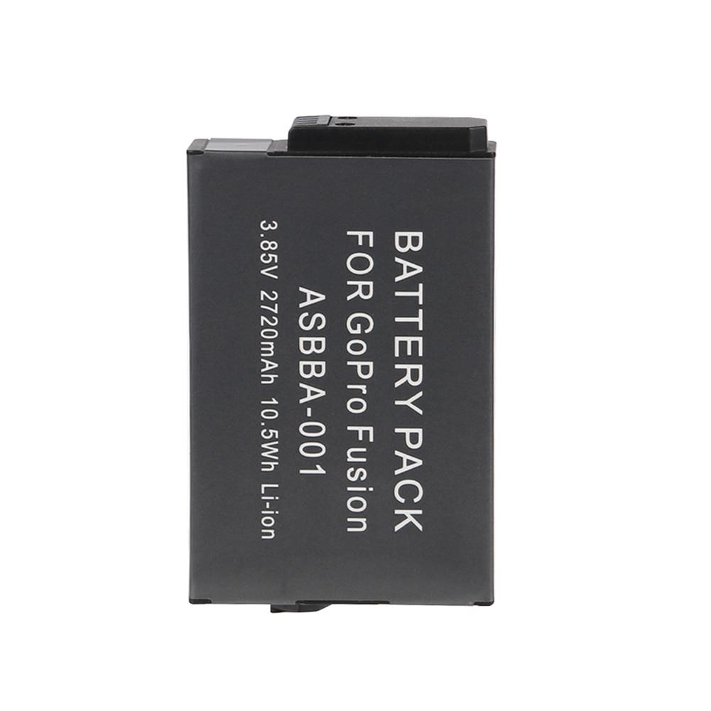 Stromquelle Ohd Original 2720 Mah Asbba-001 Kamera Batterie Für Gopro Akku Gopro Fusion 360-grad Reich Und PräChtig Digital Batterien