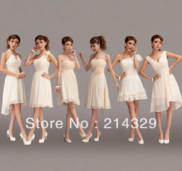 XS~XXXL 6 different designs evening dresses chiffon women party dress  fashion cocktail dresses elegant ladies prom dress 95b995ee3407