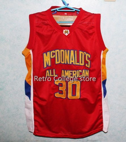 #30 MICHAEL BEASLEY Dolphins McDonald ALL AMERICAN high quality basketball jersey #5 BARON DAVIS Retro throwback Cheap menswear