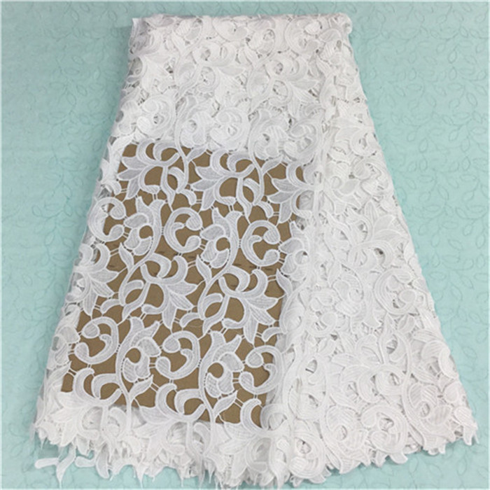 (5yards/pc)BW79-12,Fashionable african lace fabric with white flower embroidery french guipure lace fabric for party dress(5yards/pc)BW79-12,Fashionable african lace fabric with white flower embroidery french guipure lace fabric for party dress