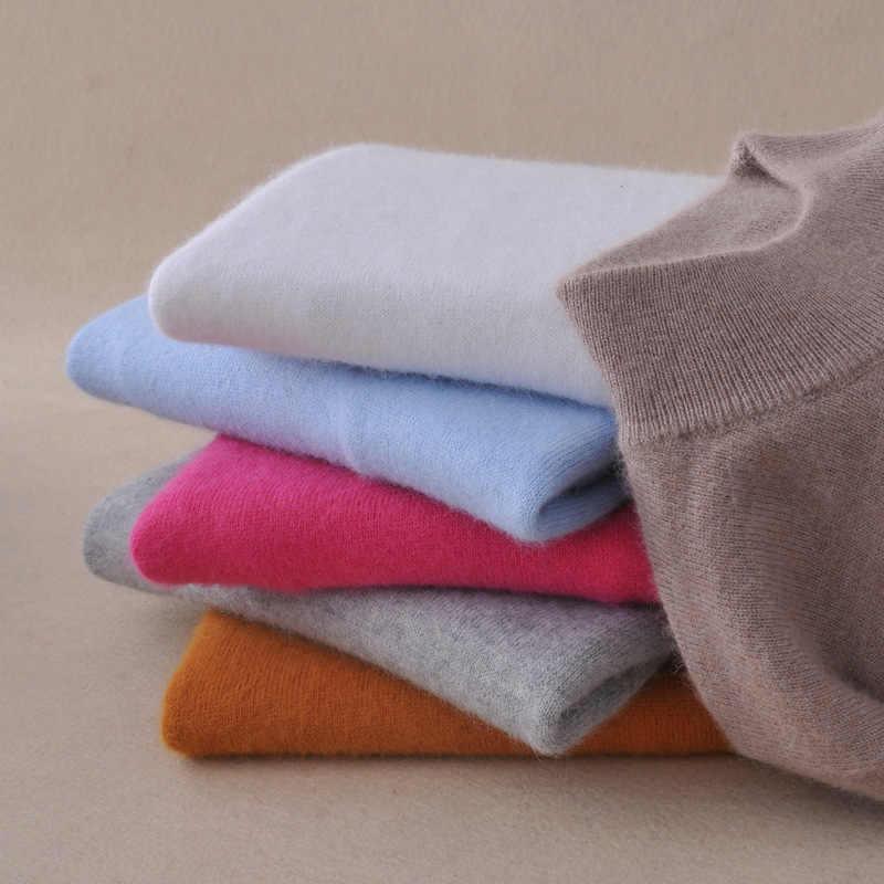 Nuovo Dolcevita Donne Maglione Pullover Lavorato A Maglia Maglie e Maglioni di Modo 2019 Delle Donne Pullover Delle Signore Maglione Inverno Femminile Magliette e camicette Truien Dames
