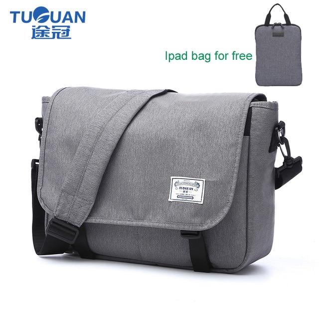 Waterproof Messenger Bag >> Tuguan Brand Designer Unisex Men Waterproof Messenger Bags Korean