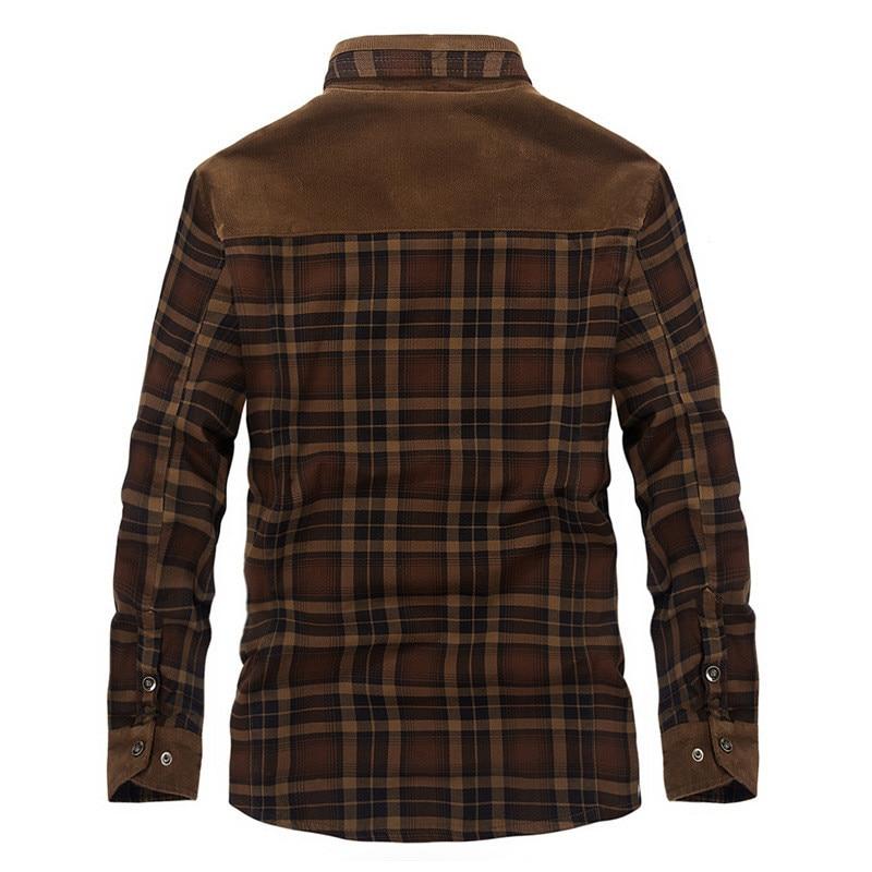 HTB1bZRibE rK1Rjy0Fcq6zEvVXa1 Autumn and winter men's jacket casual shirt plus velvet jacket business casual large size coat