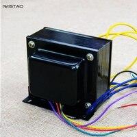 IWISTAO ламповый усилитель Выход трансформатор 100 Вт Тяни Толкай Z11 кремния Сталь EI114 * 50 Тяни Толкай ламповый усилитель Мощность аудио HIFI DIY