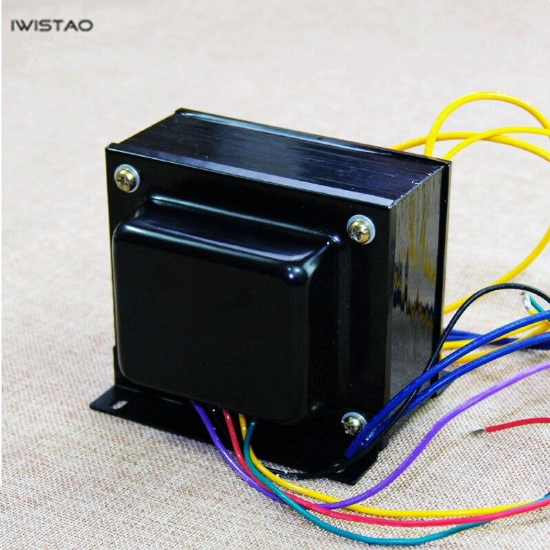 IWISTAO Tube Amplifier Output Transformer 100W Pull-Push Z11 Silicon Steel EI114*50 Pull-push Tube Amp Power Audio HIFI DIY