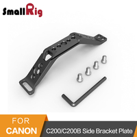 SmallRig Side Bracket Mounting Plate With NATO Rail for Canon C200/C200B To Mount C200 Top Plate And Base Plate 2295