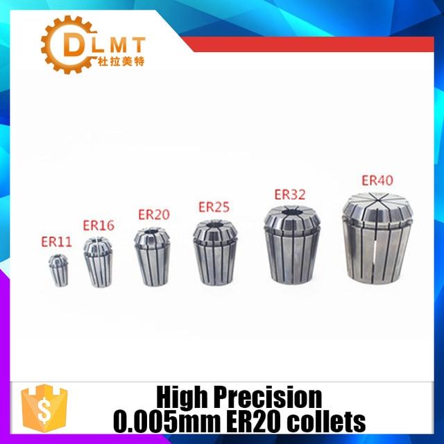 1 pièce pinces ER20 haute précision 0.005mm précision 1mm-13mm pince à ressort ER20 adapté au support de mandrin de pince ER