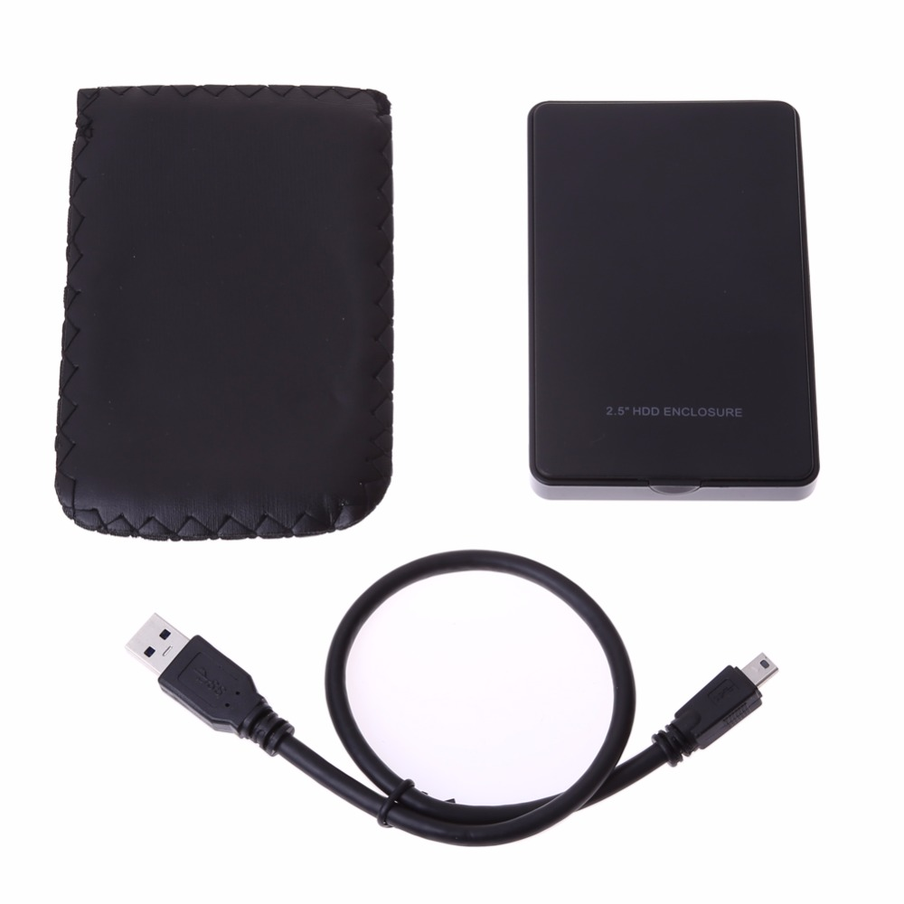 2.5 USB 3.0 to SATA External HDD Hard Drive Hard Disk Enclosure Case SATA Hard Drive Enclosure Caddy Support HD up to 2TB external laptop hdd case usb wifi disk router sata hard disk reader case 2 5 inch hdd caddy usb 3 0 plastic hard drive enclosure