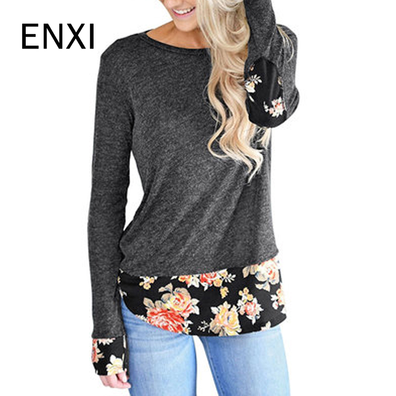 Winter Pregnant Maternity Tops Floral Knitted T-shirt Pregnancy Basic T Shirt Maternidade Clothing Long Sleeve Clothes For Women fresh style long sleeve round collar lacework embellished t shirt for women