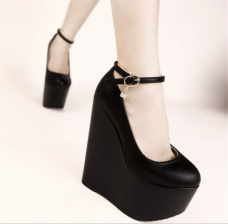 Online Buy Wholesale white wedge heel from China white wedge heel ...