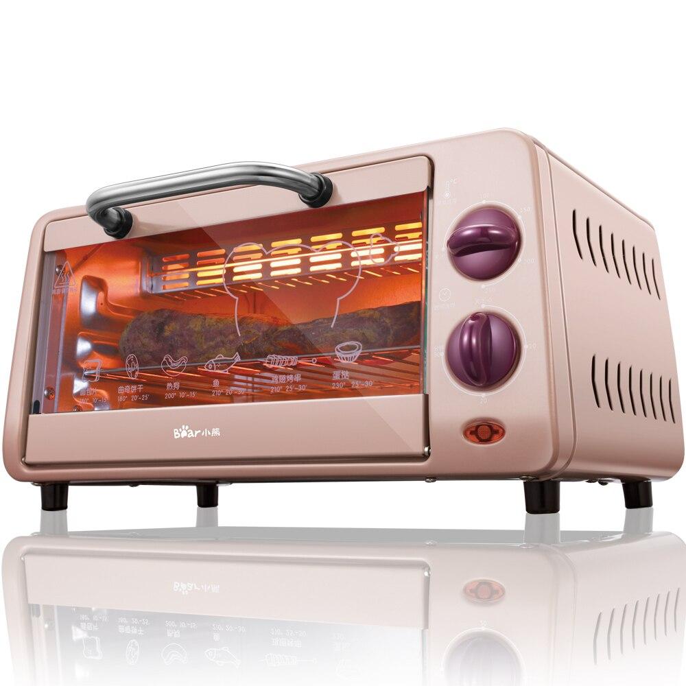 220 В многофункциональная 9л электрическая печь для выпечки Мини Бытовая хорошего качества пицца пирог хлебопекарная печь ЕС/США/вилка брита