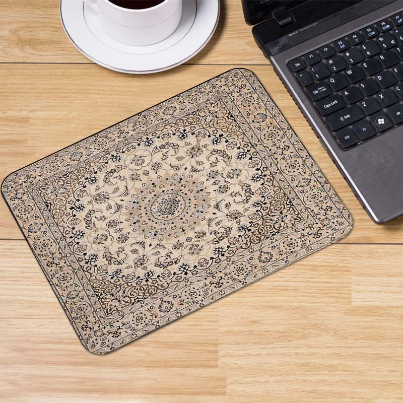 Yuzuoan Persian carpets Wholesale Customization 180x220mm 250x290x2mm Extended GamingRubber Desk Mouse Pad Small Size Table Mat