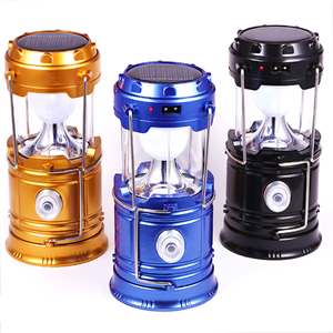 Image 2 - Portable Solar Charger Camping LED Flashlight Outdoor Lighting Folding Camp Tent Lamp USB Rechargeable Lantern