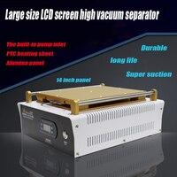 1PC fullset Integrierte Vakuumpumpe 14 zoll für iPad Glas LCD Separator Split Screen Reparatur Maschine für Samsung Tablet PC