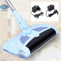 Ultra Quiet Mini Home Wireless Electric Hand Push Sweeper Spinning Broom Mop Drag Household Cleaning US