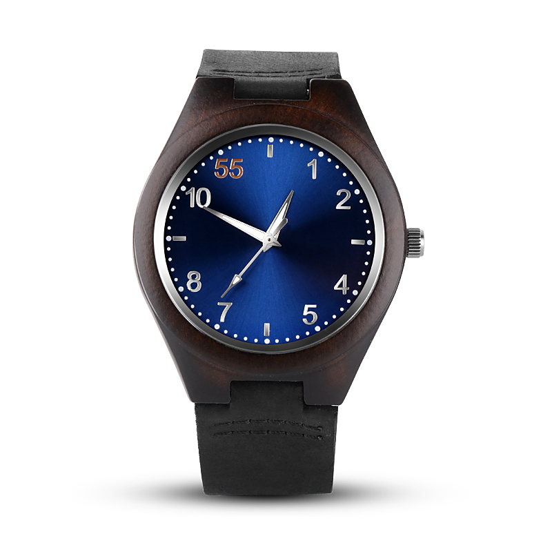 все цены на Wooden Mens Watches Top Brand Luxury Blue Wood Watch Men Watch Fashion Wood Men's Watch Clock saat reloj hombre erkek kol saati онлайн