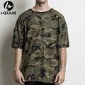 mens t shirts fashion 2016 summer t shirt homme Kanye  t-shirt hip hop camouflage tshirt swag streetwear justin bieber tees