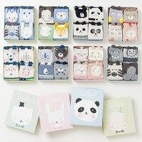 OLN KRE 11-24 Gift Box cute 3d animal patterns cotton socks for women autumn winter fashion short socks (5 pairs/pack)
