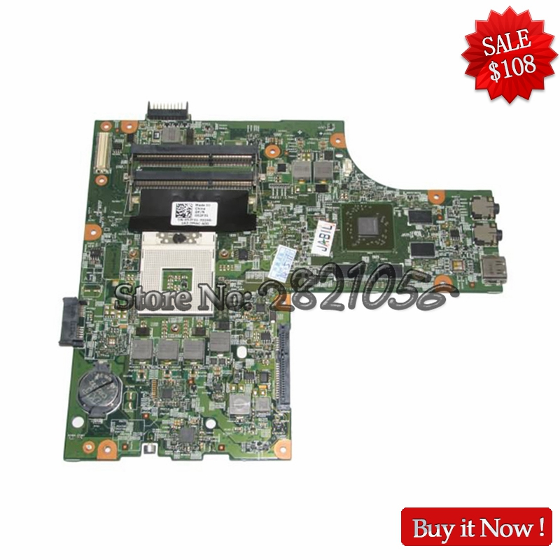NOKOTION 052F31 52F31 48.4HH01.011 Main Board for DELL INSPIRON 15R N5010 MOTHERBOARD HM57 HD 5650 DDR3 Free CPU nokotion for dell inspiron n5010 laptop motherboard cn 0y6y56 0y6y56 48 4hh01 011 main board hm57 ddr3 free cpu