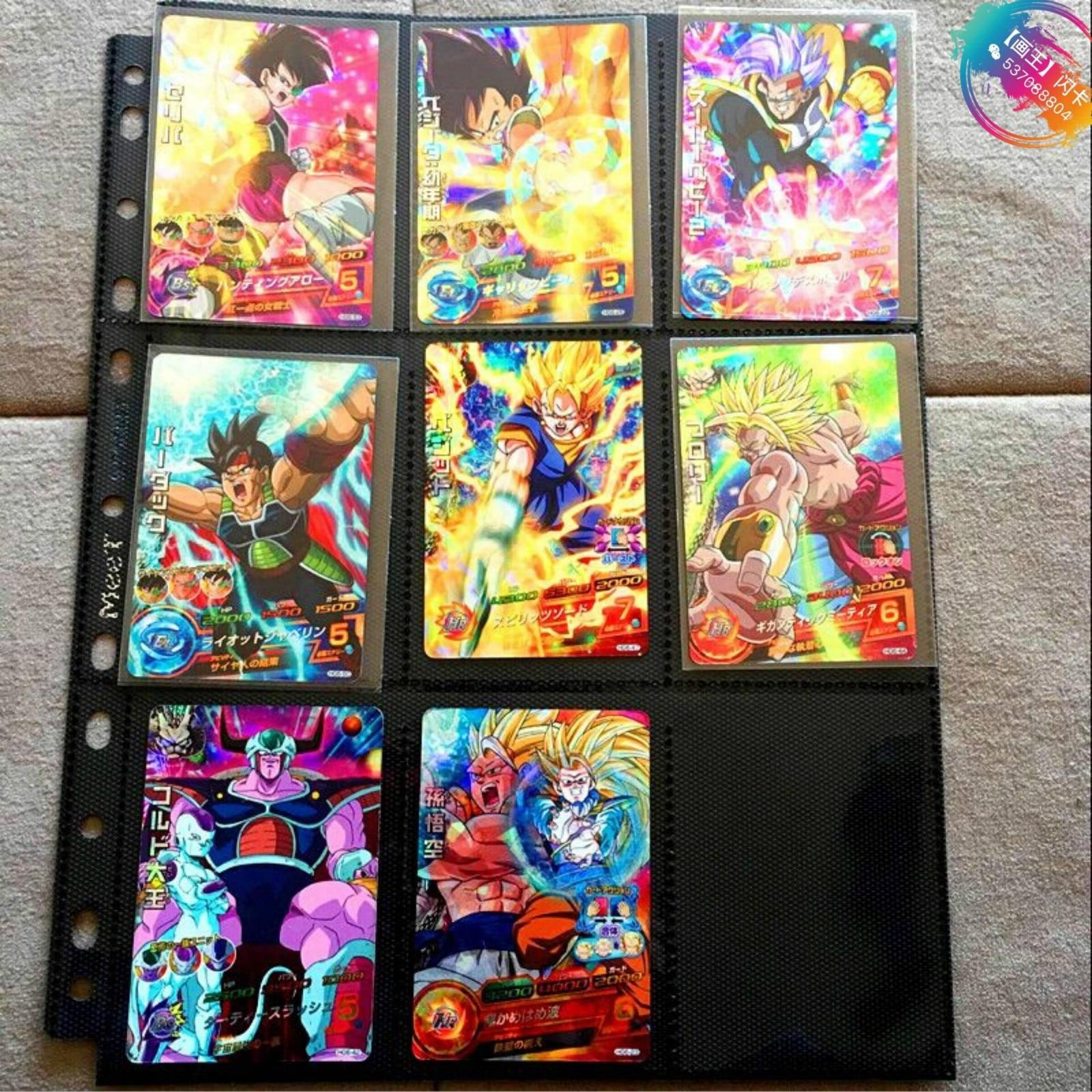 Japan Original Dragon Ball Hero Card SR Flash 3 Stars HG6 Goku Toys Hobbies Collectibles Game Collection Anime Cards