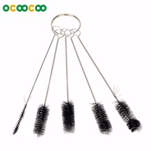 MS001 Cleaning Brushes Set For Tattoo Equipment – Black (5 Pcs)