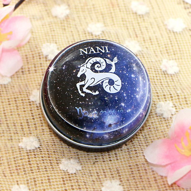 2019 Hot NANI 12  Zodiac Sign Compact Scented Body Balm Skin Care Cream Flower Perfume Essential Hot Mdf