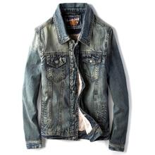 dee971e8b7f3ef Europäischen Stil Vintage Winter Samt Mäntel herren Jacken Oberbekleidung  Mantel Alte Mode Mens Jean Jacke und
