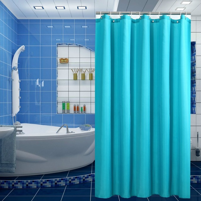 Di alta Qualità Tende da Doccia Impermeabile Bagno Schermi Bagno di Colore Solid