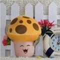 16 CM plantas vs Zombies brinquedos de pelúcia brinquedos de pelúcia boneca de brinquedo para crianças presentes brinquedos ( luz solar cogumelos )
