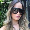JUSTRUE Fashion Celebrities Sunglasses Classic Brand Design Goggle Sun glasses Vintage Retro Gradient Shadow Women Female Shades