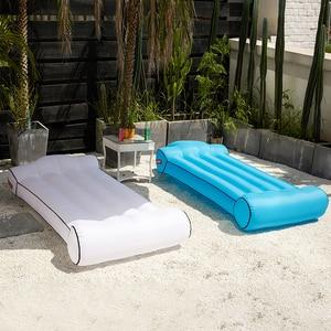 Image 3 - Air zitzak sofa Bed outdoor Opblaasbare bean bag stoel waterdicht bed