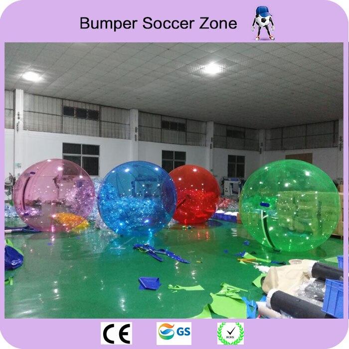 Gratis Verzending 2 m Water Bubble Bal Opblaasbare Water Lopen Bal Water Ballonnen Ballen Giant Opblaasbare Anti Stress Bal