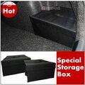 Caixa de armazenamento tronco traseiro, saco de armazenamento auto carro para Skoda Octavia A5, acessórios interiores de automóveis