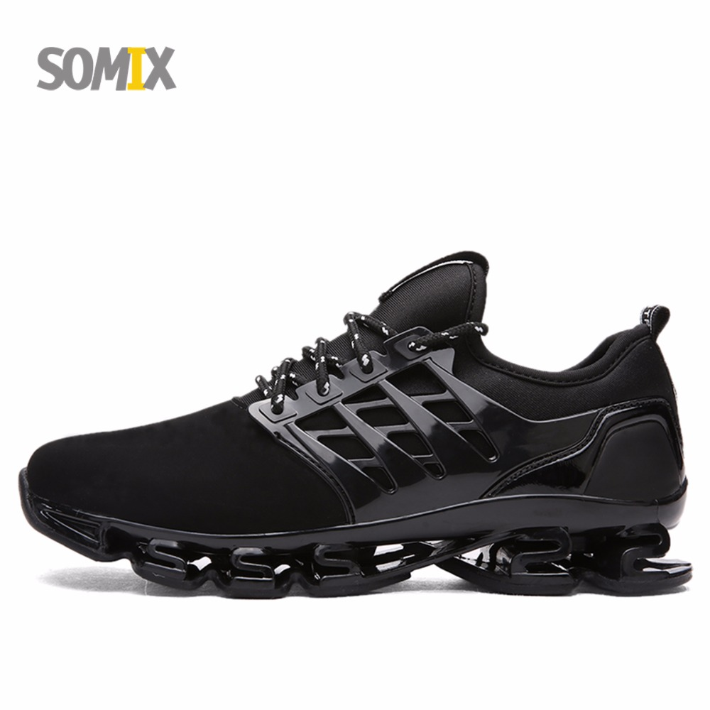 Somix 2017 Super Cool Men Damping Running Shoes Breathable Outdoor Athletic shoes Men Sneakers Men Professional Trainers Shoes summer style somix ultralight damping running shoes for men free run sneakers 2017 slip on breathable blade soles sport shoes