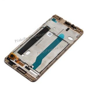 Image 3 - 5.2 1920x1080 תצוגה עבור Asus Zenfone 3 מקסימום ZC520TL LCD מסך מגע עם מסגרת Digitizer עצרת X008D