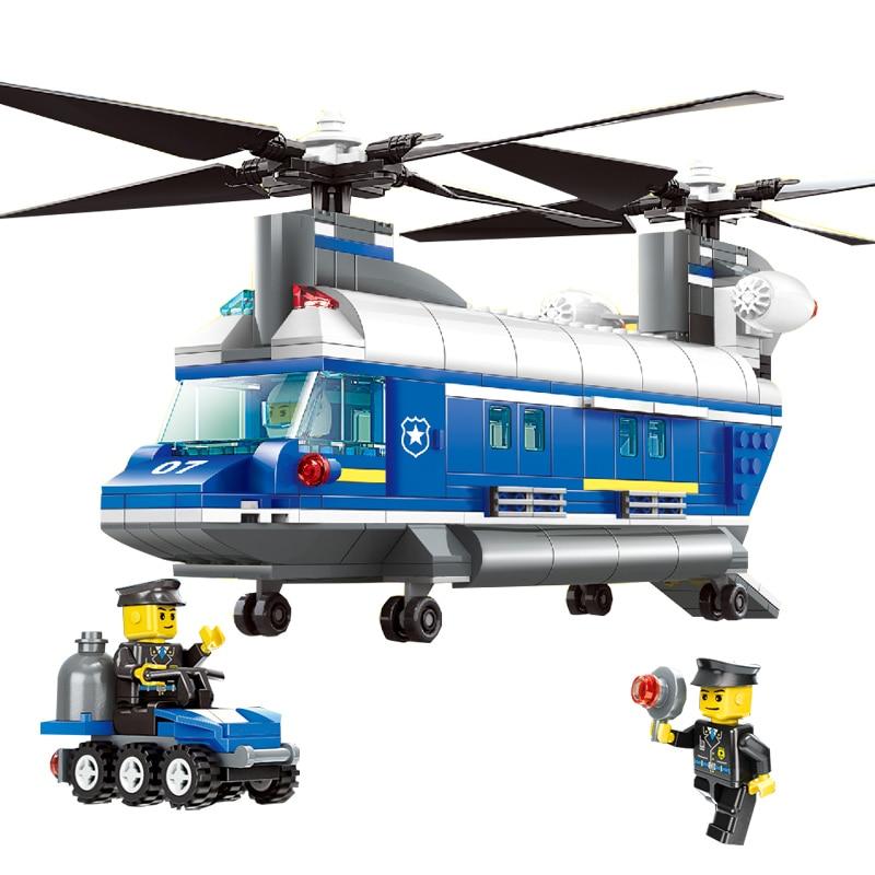 ФОТО Wange 52015 Educational DIY Bricks Kids Toys Building Blocks Sets Police ca r 427 pieces/set For Boys Chilren Gift