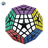 2016 Shenngshou Masterkilominx Cube PVC Sticker Magic Cube Professional Puzzle Speed Cubes Educational Special Toys