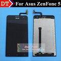Alta Calidad Nueva Pantalla Táctil y LCD Display Digitalizador Asamblea TP para asus zenfone 5 a500cg t00j t00f smart teléfono negro color