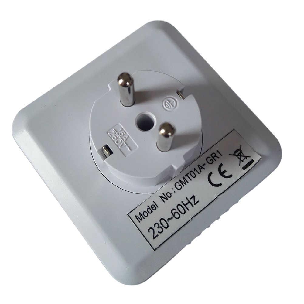 24 heures minuterie prise mécanique programme minuterie interrupteur prise 230V ue/US prise murale prise protecteur économie d'énergie fournitures P0.1