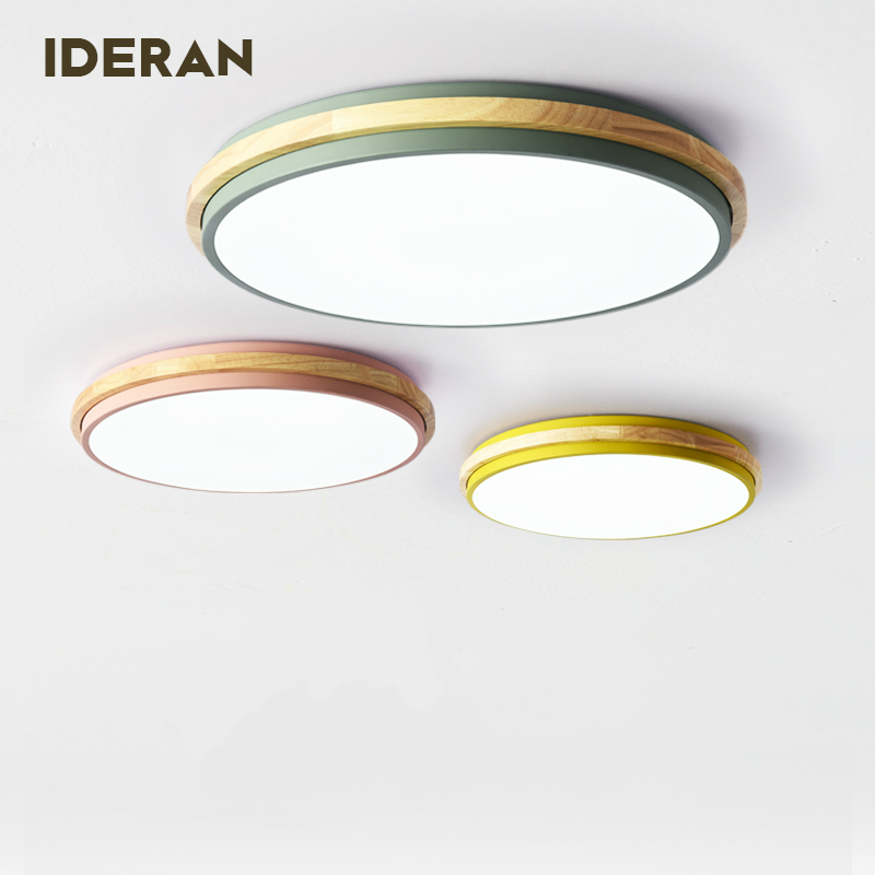 Ma car ons round Nordic minimalist bedroom lights wood logs iron restaurant lights warm and romantic LED ceiling lamp iron ma page 7