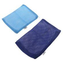 1pc Polyester Filter Mesh Net Bag Aquarium Fish Tank Pond Zipper Aquarium Filter Bag