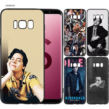 riverdale cole sprouse Jughead Jones Black Soft Silicone Case Cover Shell Coque for Samsung Galaxy S9 S8 Plus S7 S6 Edge S9+ S8+(China)