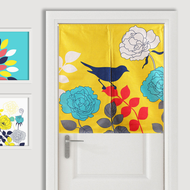 Kitchen Curtains bird kitchen curtains : Aliexpress.com : Buy Nordic bird entrance curtain decorative ...