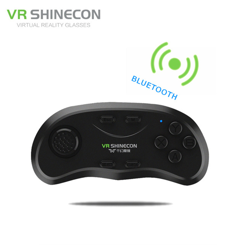 VR Shinecon Gamepad Bluetooth Wireless Phone Game Pad Joypad Remote Gaming Controller Controle For Android For iPhone VR Glasses