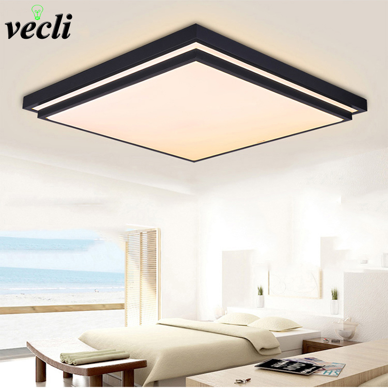 Modern ceiling lights indoor lighting 12w led luminaria ceiling lamps for Bedroom Living Room Fixture AC90 265V