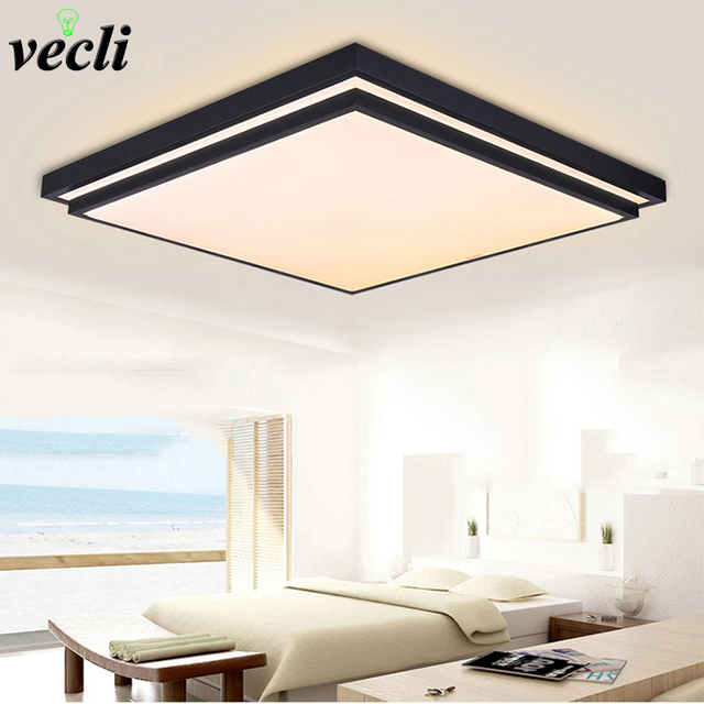 Modern ceiling lights indoor lighting 12w led luminaria ceiling lamps for Bedroom Living Room Fixture AC90-265V